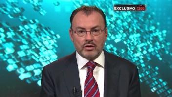 """Luis Videgaray sobre caravana migrante: """"Esto es una crisis humanitaria"""""""