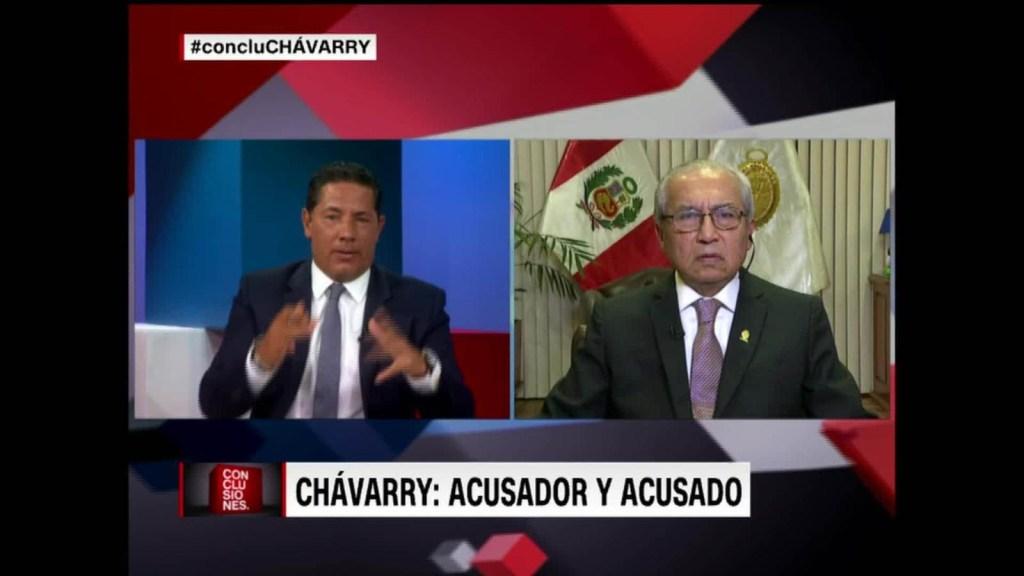 "Chávarry: ""No he mentido"""