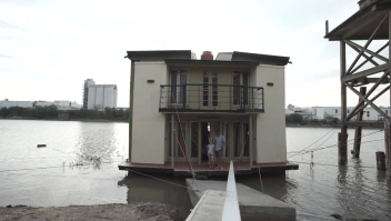 Las ventajas de vivir en una casa flotante