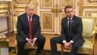 ¿Terminó la luna de miel entre Trump y Macron?