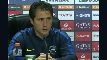 Barros Schelotto destaca el alto nivel de Boca Juniors y de River Plate