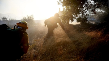 Estas personas lo perdieron todo en los incendios en California
