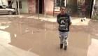 Damnificados por inundaciones en Buenos Aires