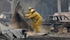 Estas son las imágenes y las cifras más impactantes que dejan los incendios en California.