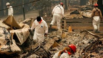 El peor incendio en la historia de California cobra al menos 50 vidas
