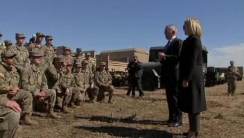 ¿Cuál es la labor de soldados de EE.UU. en frontera con México?