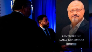 El funeral de Jamal Khashoggi