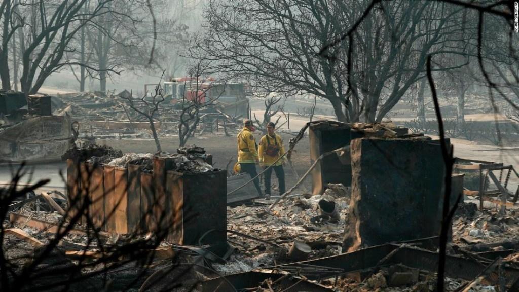 El incendio de California devastó miles de hectáreas.
