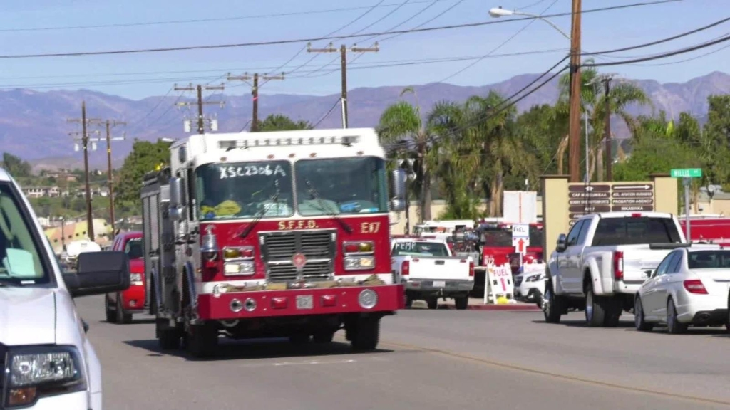 Así responden los bomberos ante un incendio