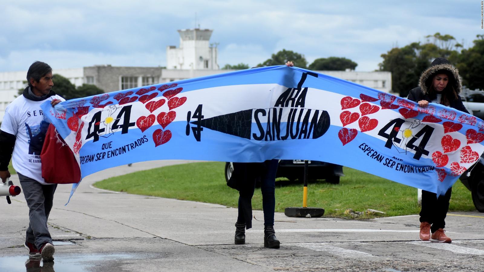 Argentina está de duelo en honor a los tripulantes del submarino ARA San Juan