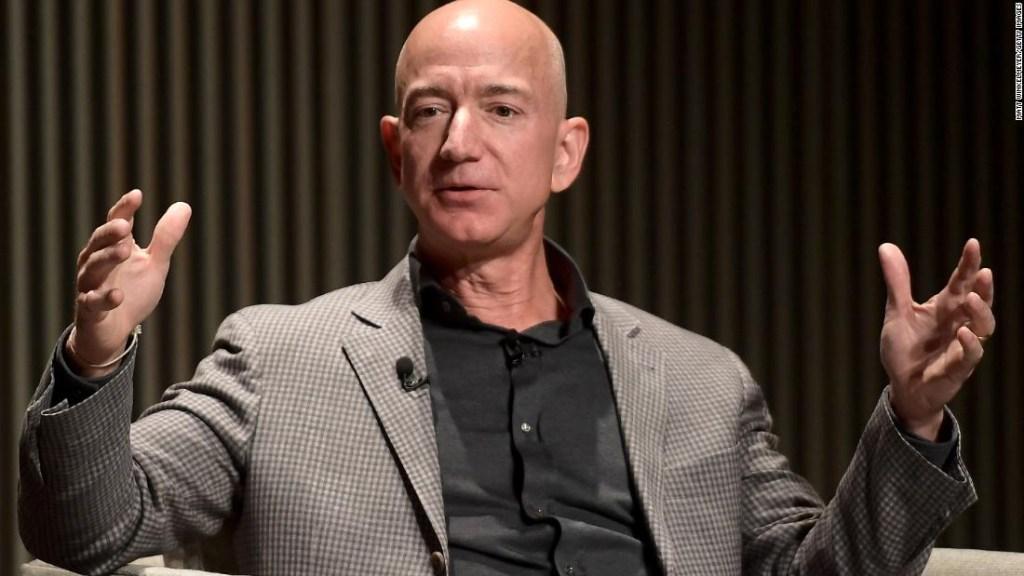 Jeff Bezos en una imagen de archivo.