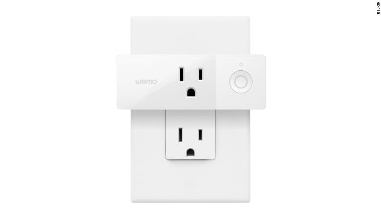 Mini enchufe inteligente de WeMo