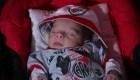 Bebé nació antes del superclásico y lo llamaron River Plate