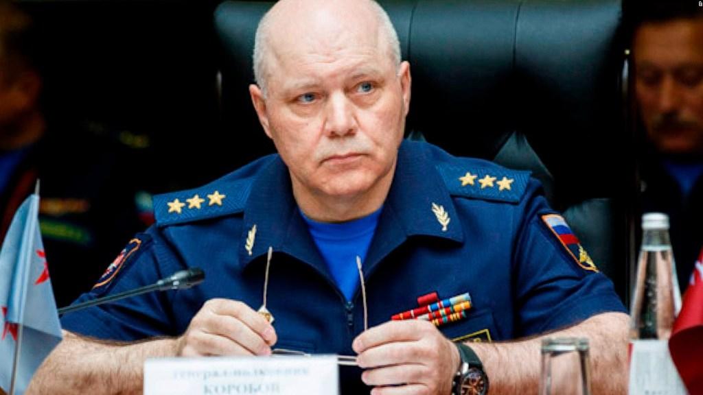 Muere Igor Korobov, director de Servicios de Inteligencia de Rusia