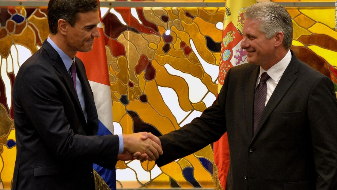 Pedro Sánchez en Cuba: no habrá encuentro con la disidencia