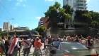 Mira el momento del ataque al autobús de Boca Juniors