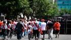 Así reaccionan los hinchas de River Plate tras suspensión del partido