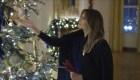 Un vistazo a la nueva decoración navideña de Melania Trump