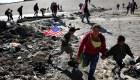 Trump reacciona a las protestas del domingo en la frontera