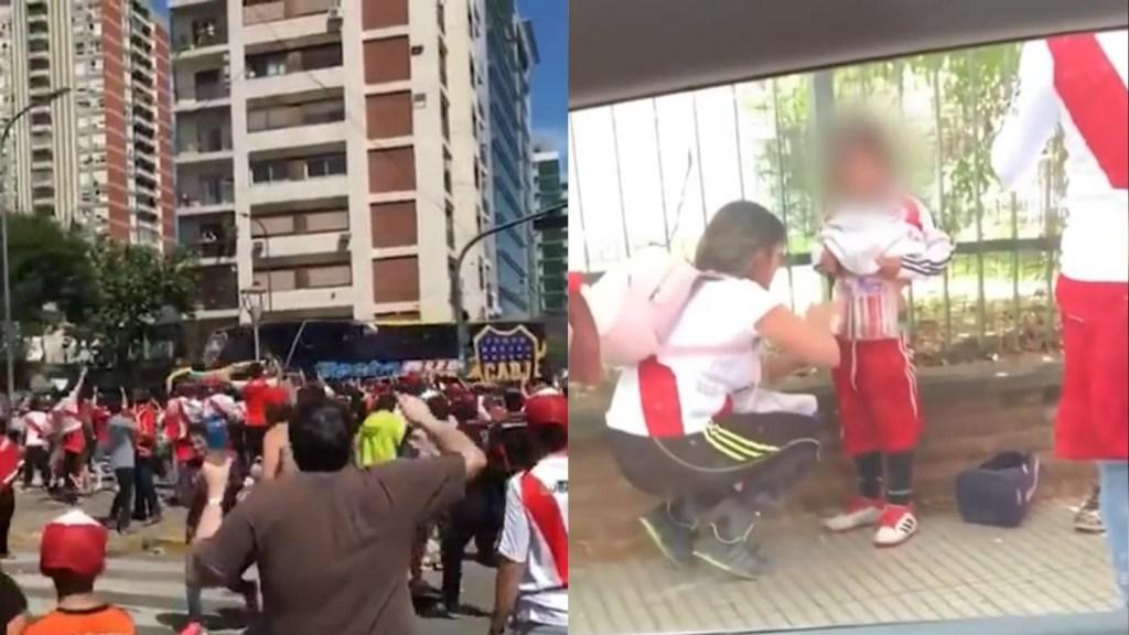 Las escenas más impactantes del postergado River Plate y Boca Juniors