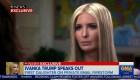 Ivanka Trump defiende el uso de su email personal