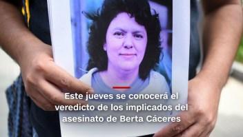 #MinutoCNN: Expectativa por veredicto en caso de Berta Cáceres