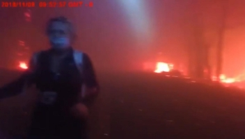 Video registra increíble rescate en el incendio Camp de California