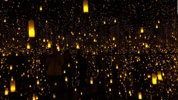 "Adéntrate a los ""Infinity Mirrors"" de Yayoi Kusama"