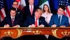 México, EE.UU. y Canadá firman nuevo tratado de Libre Comercio