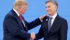 Trump apoya las reformas económicas que impulsa Macri