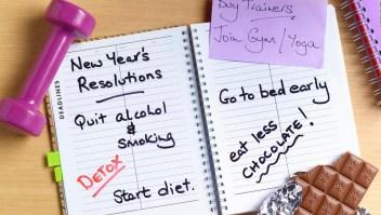Un tercio de las personas fracasa en cumplir metas de año nuevo