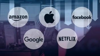 ¿Por qué están cayendo las acciones tecnológicas?