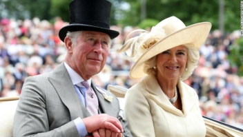 attend Royal Ascot Day 1 at Ascot Racecourse on June 19, 2018 in Ascot, United Kingdom.
