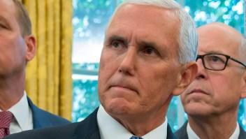 El vicepresidente de Mike Pence e Ivanka Trump llegan a México