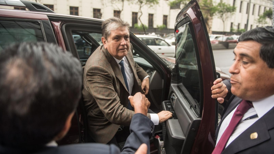 Uruguay niega la petición de asilo a Alan García