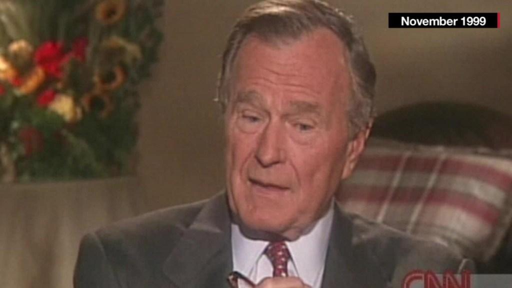 """George Bush: """"Los historiadores dirán qué hice bien"""""""