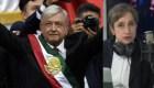 Carmen Aristegui repasa el primer discurso de AMLO como presidente
