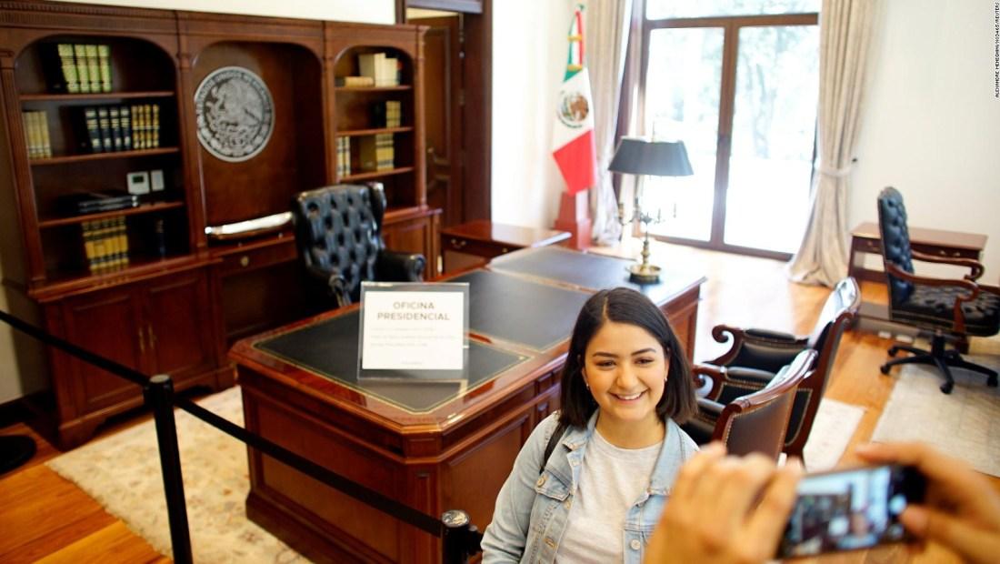 La residencia de Los Pinos abre sus puertas al pueblo mexicano