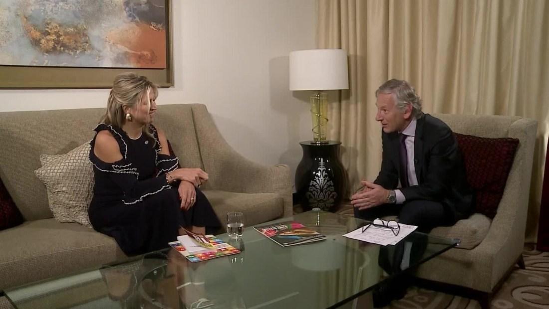 """Reina Máxima de holanda: """"La pobreza es muy cara"""""""