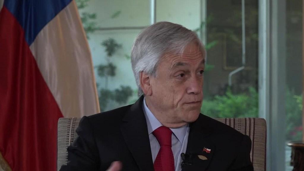 Sebastián Piñera espera que termine la guerra comercial entre Estados Unidos y China