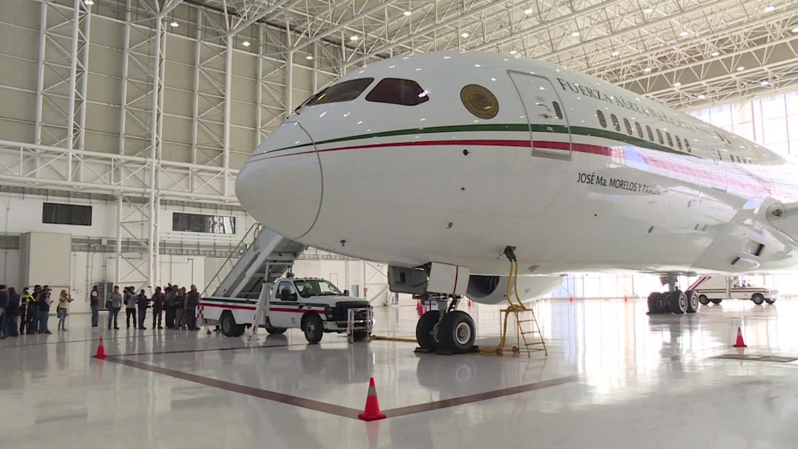 AMLO venderá el avión presidencial de México