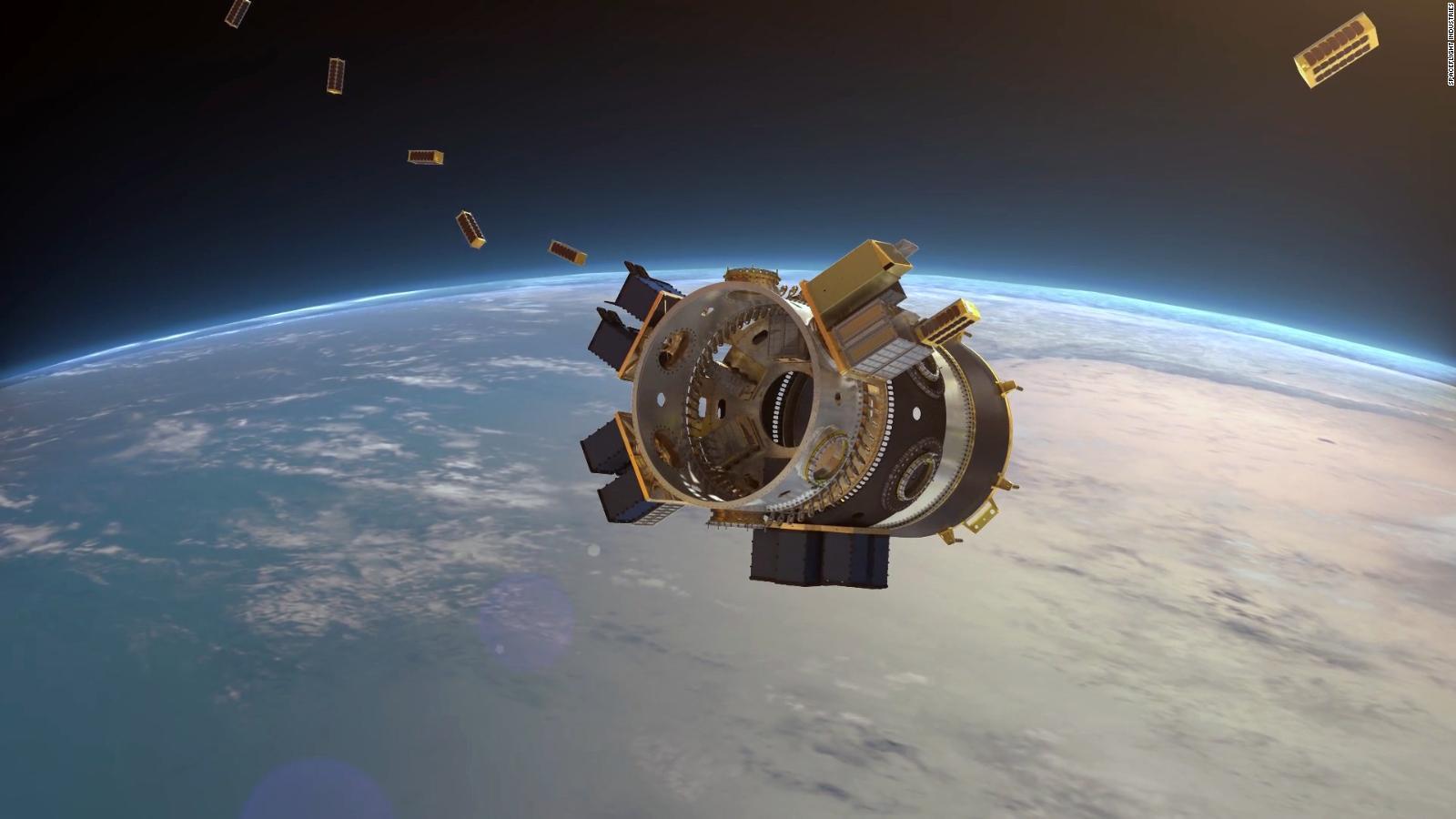 Así lanzó SpaceX 64 satélites en un solo cohete espacial