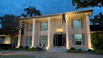 Una decoración de Navidad que provoca llamadas al 911