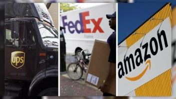 #CifraDelDía: 10% en ingresos podrían perder Fedex y UPS por la llegada de Amazon Air