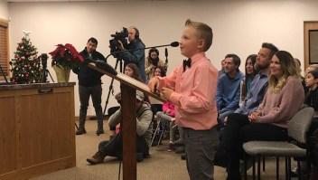 Un niño luchó para levantar una prohibición de hace 100 años.