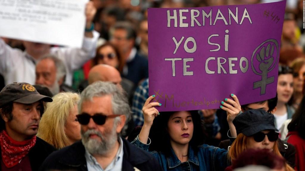 """Ratifican sentencia contra """"La Manada"""" por abuso sexual"""