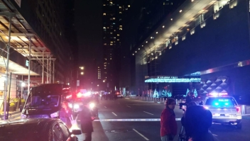 Evacuan CNN en Nueva York por amenaza de bomba