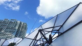 Arte, tecnología y energías renovables, en un solo lugar