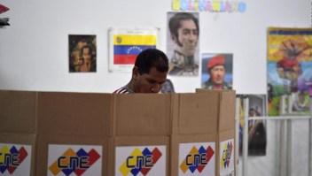 Baja participación de votantes en elecciones en Venezuela