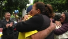 Familias inmigrantes se reúnen en Los Ángeles